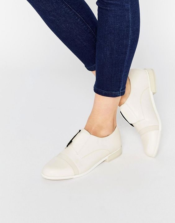 Bild 1 von ALDO – Cilang – Flache Schuhe mit Strukturfinish in Nude