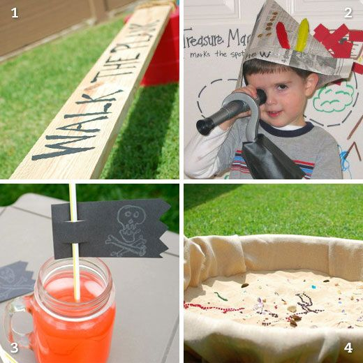 Pirate party activity ideas | Chickabug