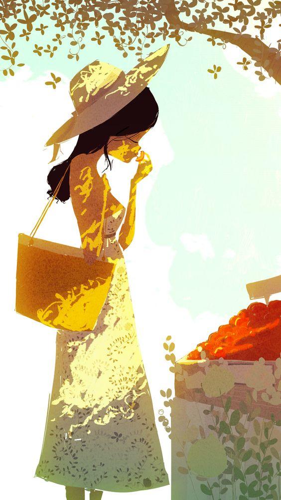 love the light #illustration