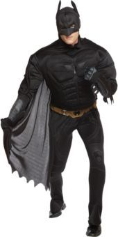 Adult Deluxe The Dark Knight Batman Costume - Party City-Groomsman?