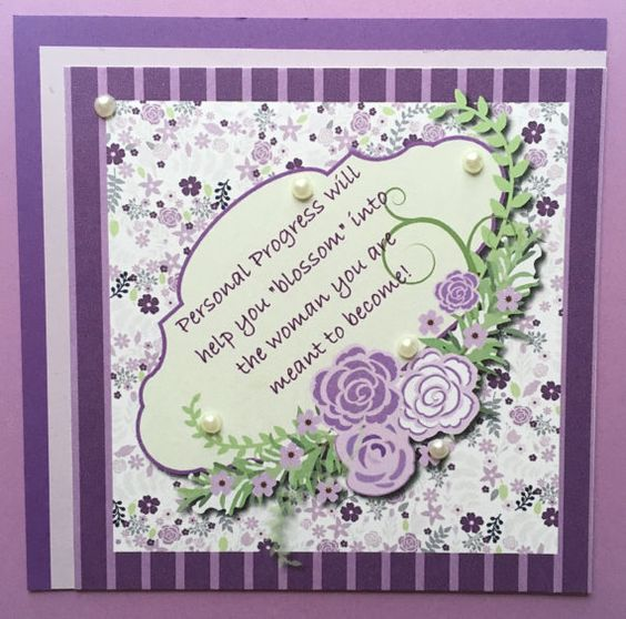 Personal Progress Flower Quote by Studio1Creations on Etsy
