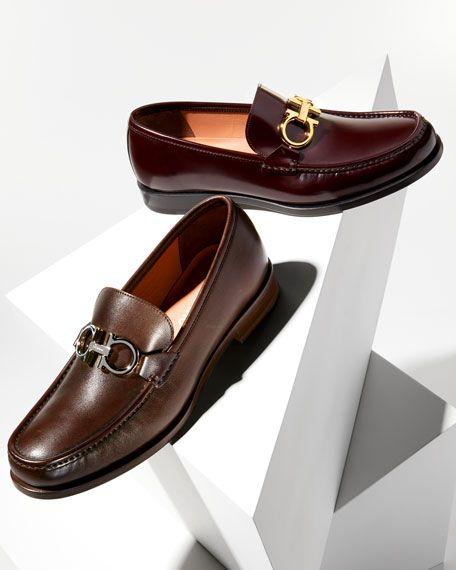 Salvatore ferragamo shoes men, Italian