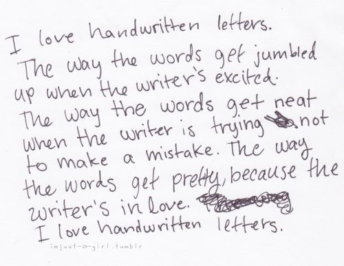 Handwritten love letters | Humor and Life | Pinterest | Hand ...