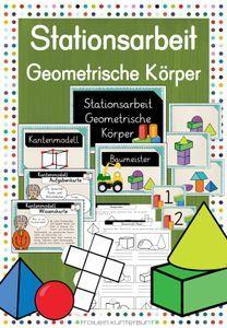 Pin Von Rebecca Auf Material Schule In 2020 Geometrische Korper Mathematik Mathe Unterrichten