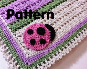 PATRÓN manta de ganchillo bebé búho por PoochieBaby en Etsy