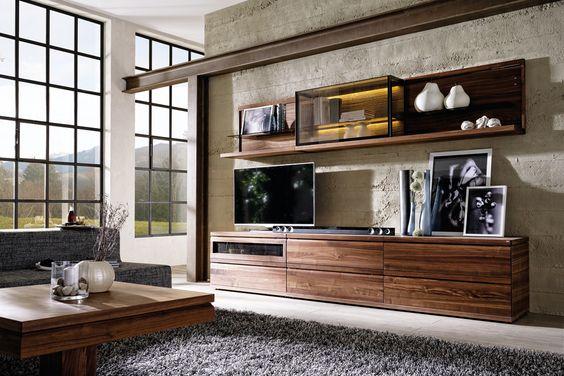 V-Loft: Wohnzimmer Naturholzmöbel: Wohnzimmermöbel:: Möbel voller leben