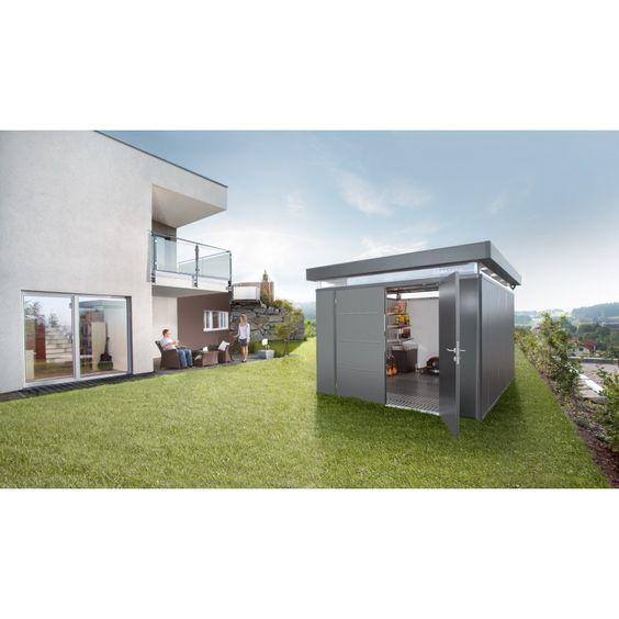 Biohort Nebengebäude CasaNova - Metallgerätehaus mit Spitzenqualität | mein-gartenshop24.de