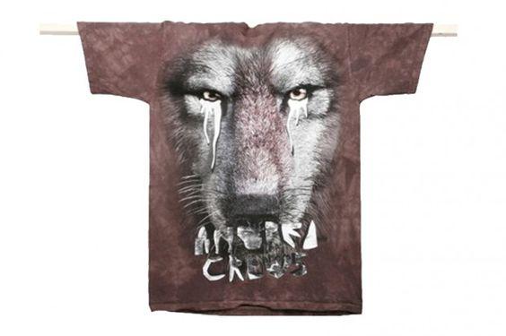 Crying animal T-shirts