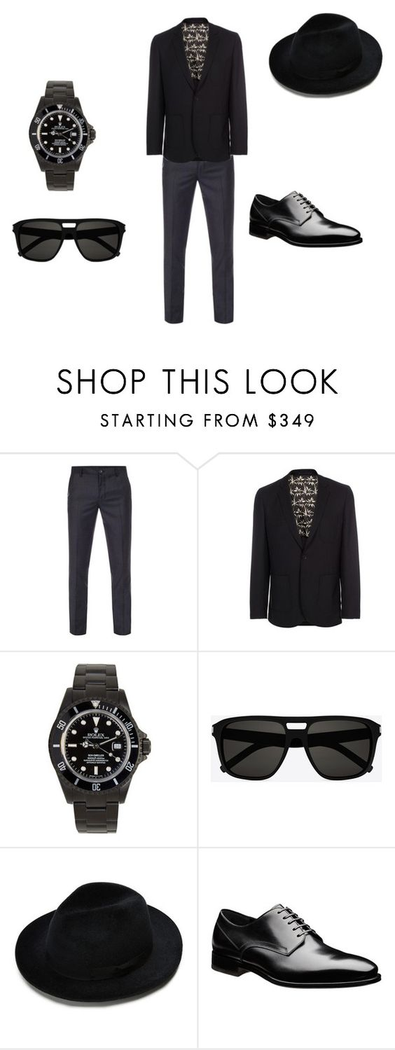 """""""Untitled #17"""" by thefullergirls on Polyvore featuring Paul Smith, Yves Saint Laurent, men's fashion and menswear"""