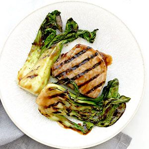 grilled bok choy recipes grilled soy healthy shrimp recipes tuna steak ...