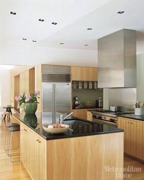 Decoracion cocinas integrales peque as interior de la - Cocinas rusticas pequenas ...