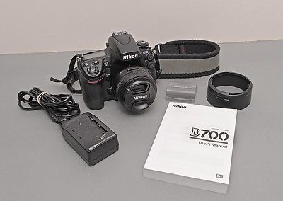 NIKON D700 12.1 MP Digital SLR Camera  NIKON 50mm f1.4 lens! - GOOD https://t.co/6EKbjkAbCK https://t.co/l3FkHAFzdK