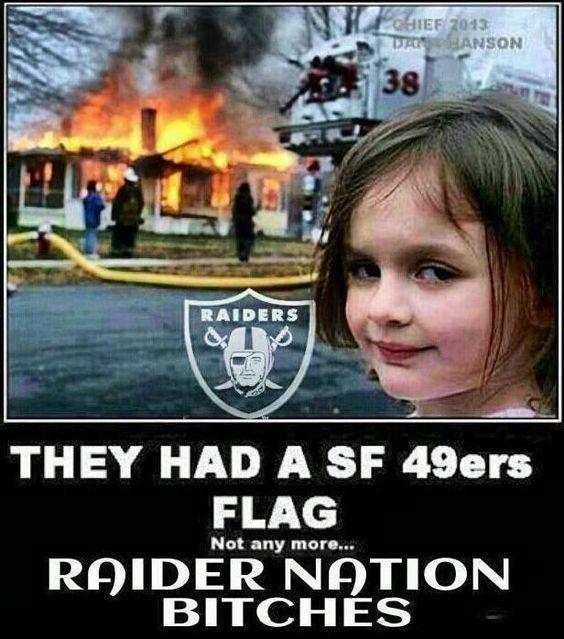 Raider nation baby!!!!