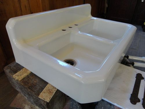 kitchen sink with legs aprons farms and sinks on 6046