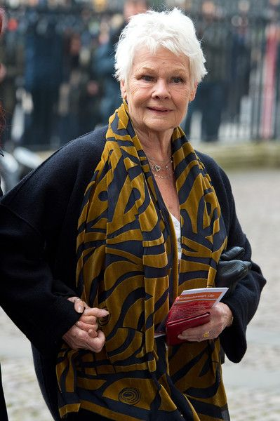 Judi Dench Photos Photos - Judi Dench attends a Memorial Service for Sir Richard Attenborough at Westminster Abbey on March 17, 2015 in London, England. - Memorial Service Held for Sir Richard Attenborough