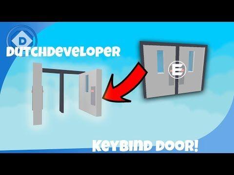 Roblox Keybind Door Youtube Roblox Doors Lettering