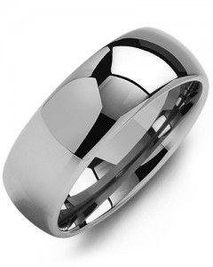 #Bague pour homme Madani / Tungsten 8 mm Grandeur 10
