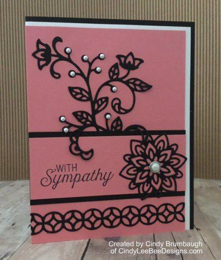 Stampin' Up! Flourishing Phrases Sympathy