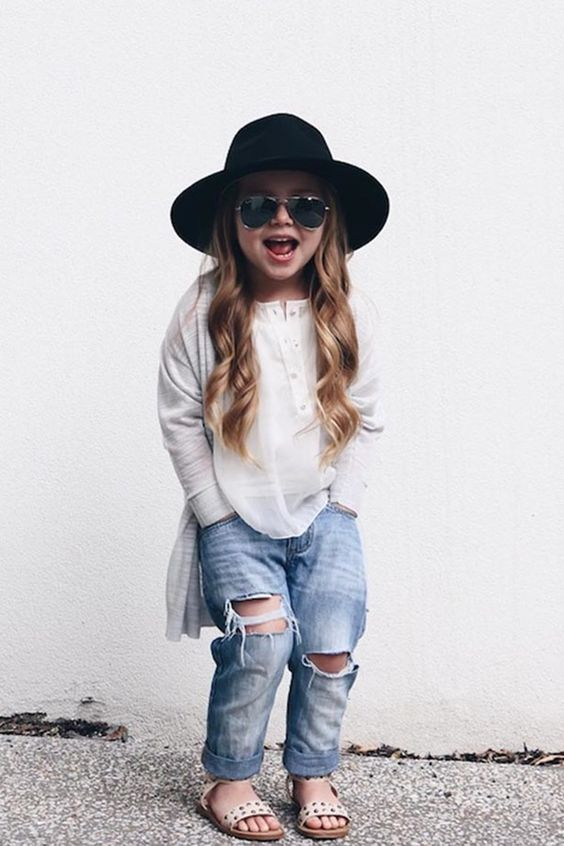 The Floppy Hat: 5 Trendy Kids' Outfits You'll Want for Yourself @PureWow