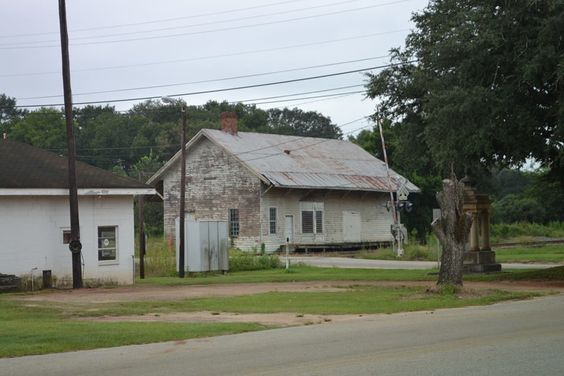 old train depot  in Leary  Ga