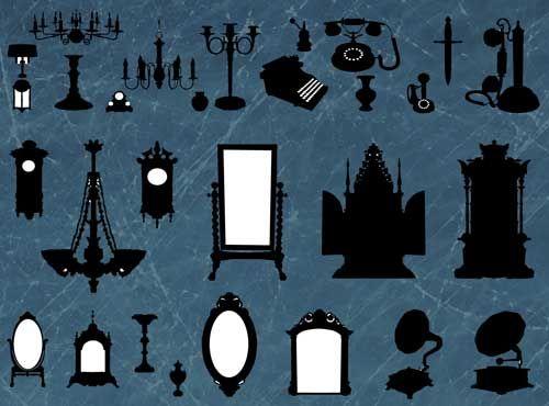 Marcos de espejos antiguos en vector creativo pinterest - Marcos espejos antiguos ...