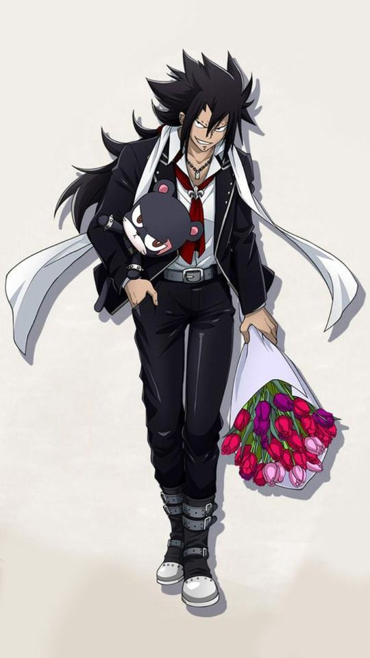 He's so cute in bad boy kinda way!! Hope he's taking Levy out!!???????? <<< I hope he is, I'd cry if he wasn't