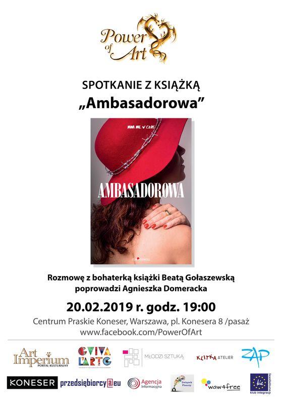 Ambasadorowa - Beata Gołaszewska