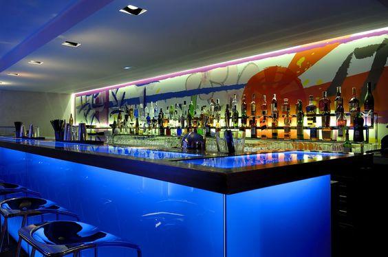 Barra De Bar Barra Bar Para Lounge O Restaurante Barras De Bar - Bar design tribe hyperclub by paolo viera