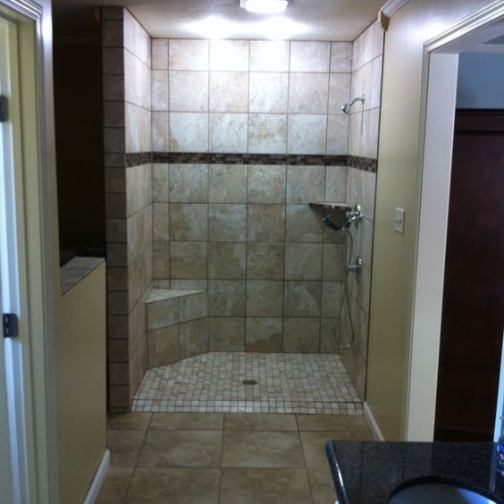 Boy Bathroom, Walk In Shower And Bathrooms Decor On Pinterest