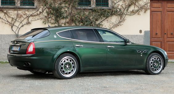 Unique Maserati Quattroporte Shooting Brake from 2009 Up for Auction - Carscoops - LGMSports.com