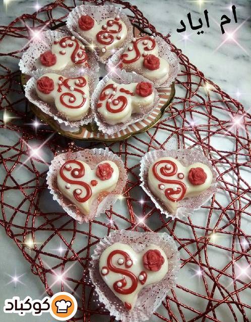 قلوب الجوري بالصور من ام اياد Recipe Desserts Food