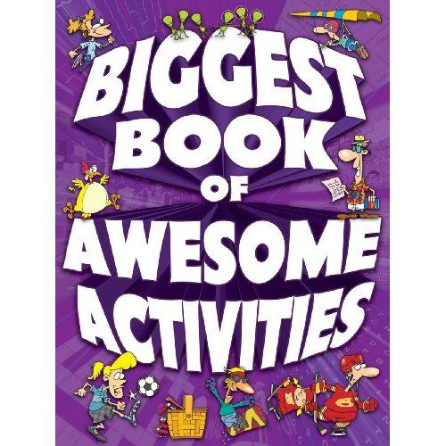 A classic edu-tainment resource, The Big Book of Awesome Activities sharpens kids' observation and concentration skills. From Search & Finds to Mazes to Spot the Differences to Word Searches and more, kids of all ages can join in on the excitement for some family-fun time!   Size: 8-1/8 x 11-3/4 inches