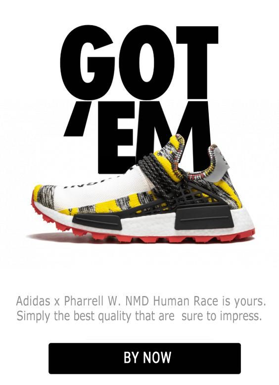 Human Race Adidas HU Solar 3MPOW3R PW Free Shipping Worldwide shoes