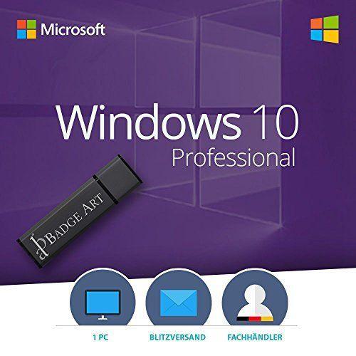 Bestes Angebot Windows 10 Pro 32 Bit 64 Bit Bootable Usb Stick Von Badge Art Original Lizenzschlussel Windows Bootable Stick Badg Usb Stick Usb Und Wolle Kaufen
