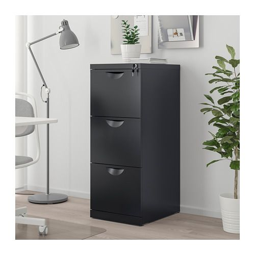 Erik File Cabinet Black 16 1 8x41 Filing Cabinet Ikea Erik