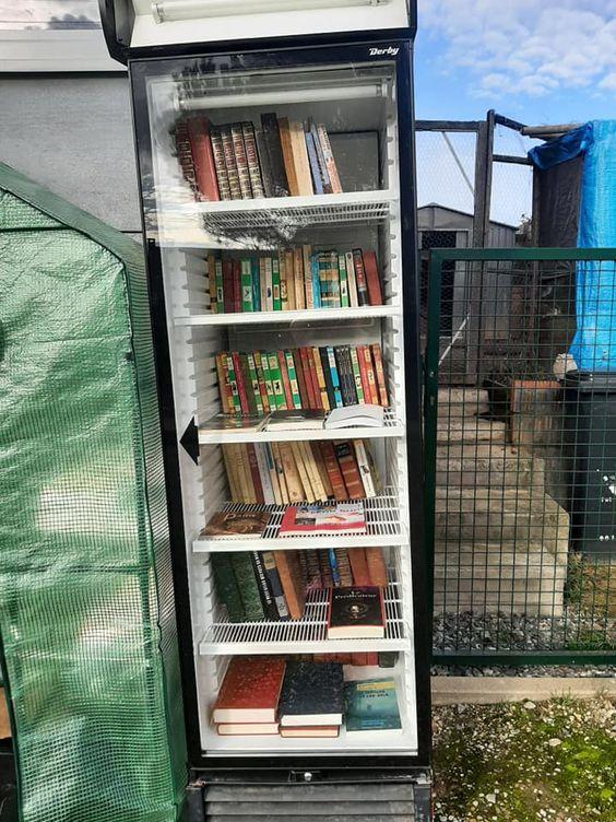 Boîte à livres Villers le Bouillet