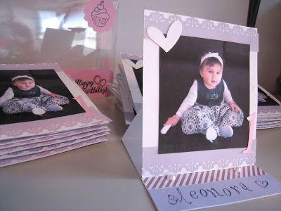 ...RobertaRobilandia....Me,Scrapbooking & my life...: Inviti compleanno bimba