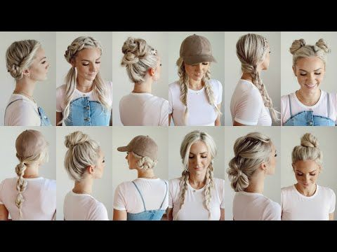 Https Www Youtube Com Watch V 8u18ioy 0z0 Hey Guys I M Gonna Be Showing You 12 Different Hairstyle Workout Hairstyles Easy Workout Hairstyles Easy Hairstyles