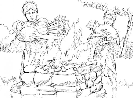 coloring page cain and abel coloring bible pinterest sunday school bible and school