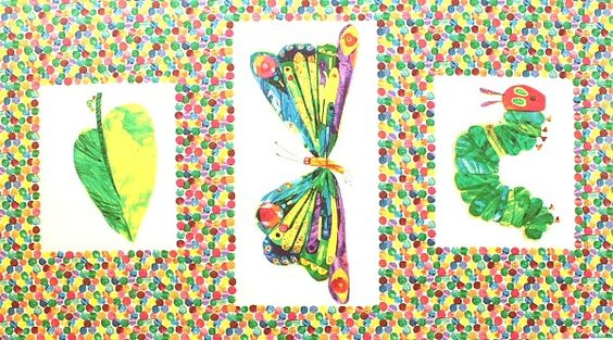 Andover Fabrics 'The Very Hungry Caterpillar'