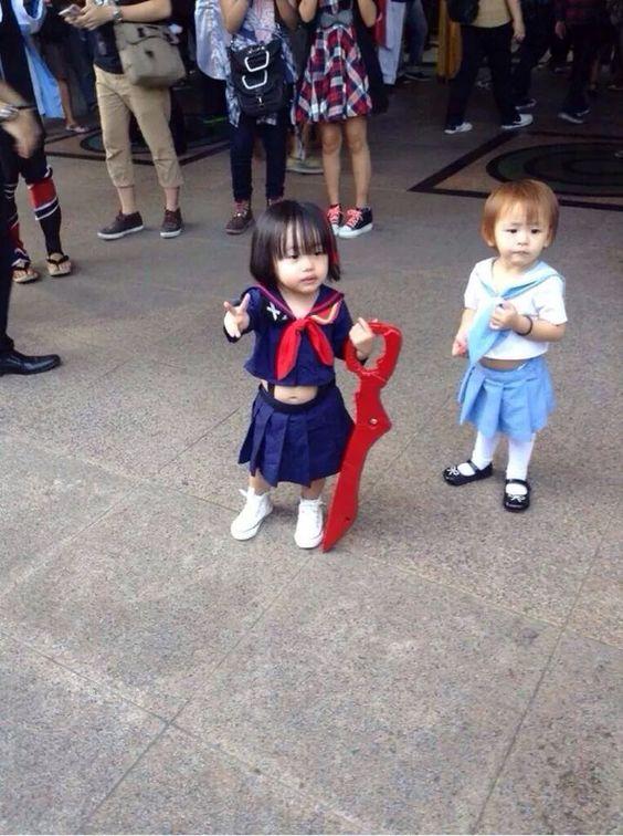 Mako n Ryuko Kawaii Cosplay