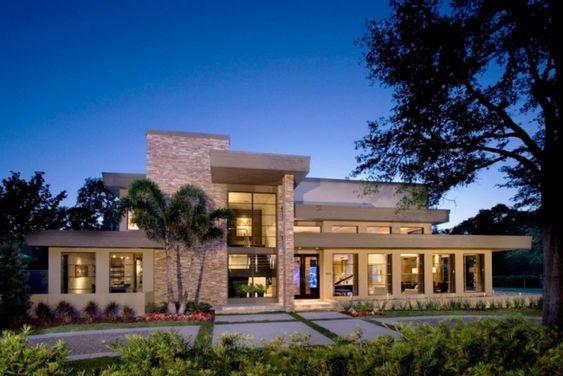 NeMo Designer-Haus Florida-Flachdach-Baukörper