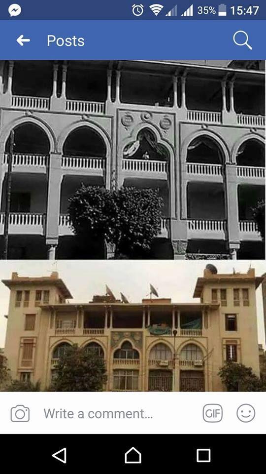 العماره التي تم تصوير فيها فيلم الوساده الخاليه لعبد الحليم حافظ Gif 47