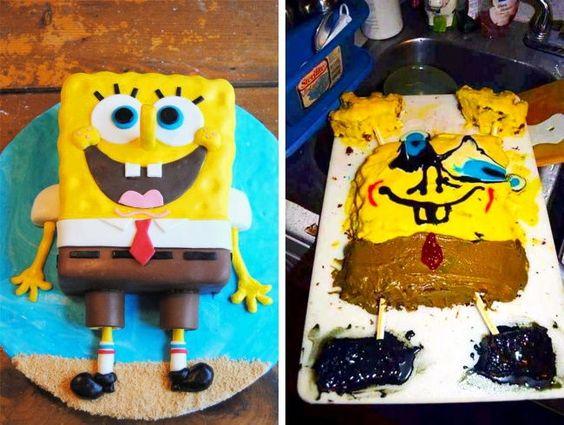 18 απίστευτα αστείες τούρτες που απέτυχαν εντυπωσιακά
