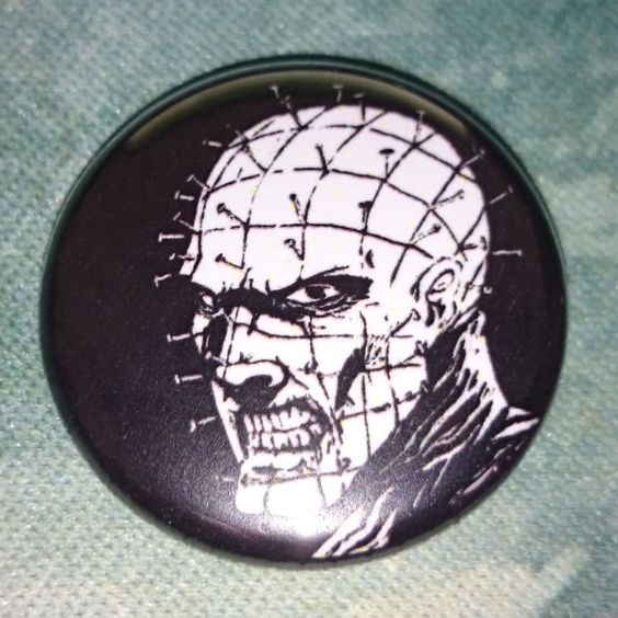 #Button #Badge #Hellraiser