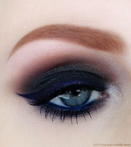 Smokey Eye Makeup For Blue Eyes You - Makeup Vidalondon  Smokey Eye Make...