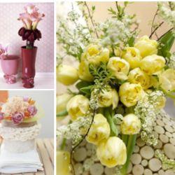 Blumen und Brautstrauß nach Jahreszeit