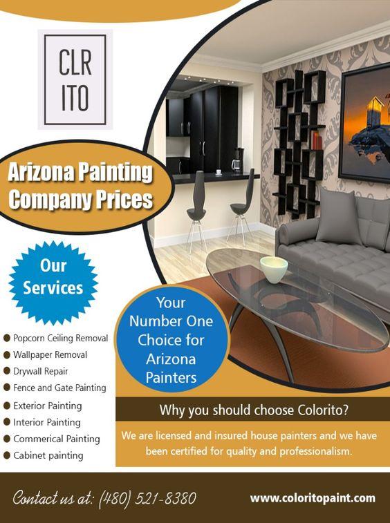 Arizona Painting Company Prices