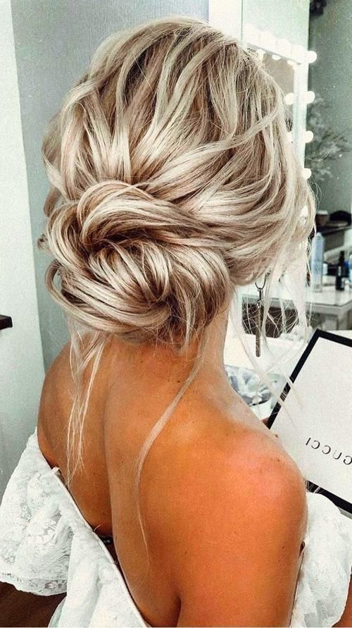 Wedding Hairstyles Low Bun Wedding Hair Chic Hairstyles Medium Hair Styles