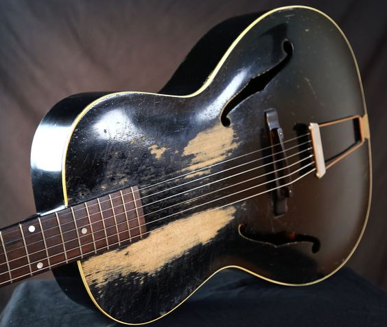 1936 Gibson L-30 L30 Spruce Top Vintage Archtop Acoustic Guitar grlc1400 #Gibson